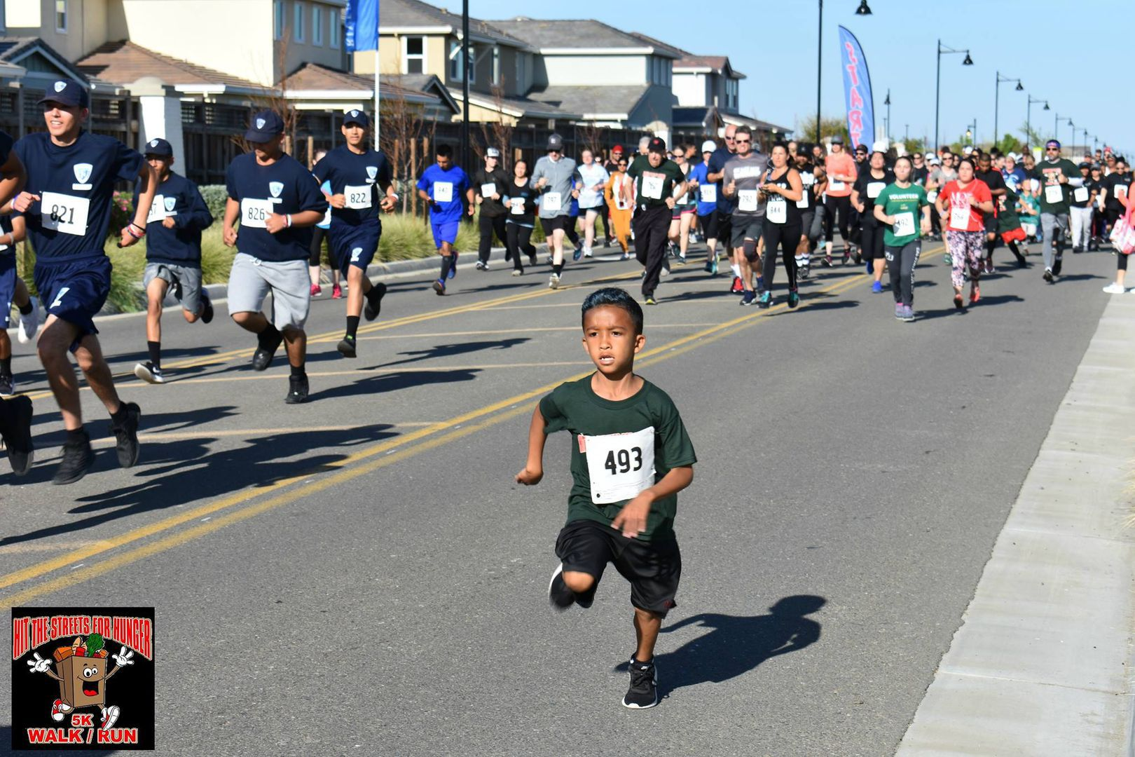 """River Islands Technology Academy's 9th Annual """"Hit the Streets for Hunger"""" Run and Pancake Breakfast"""