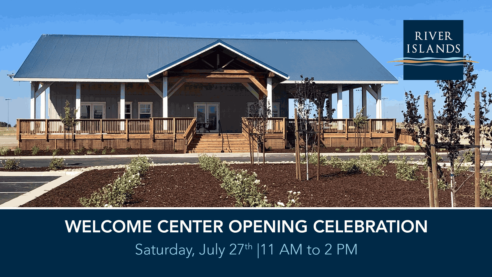 The Welcome Center's New Home in River Islands