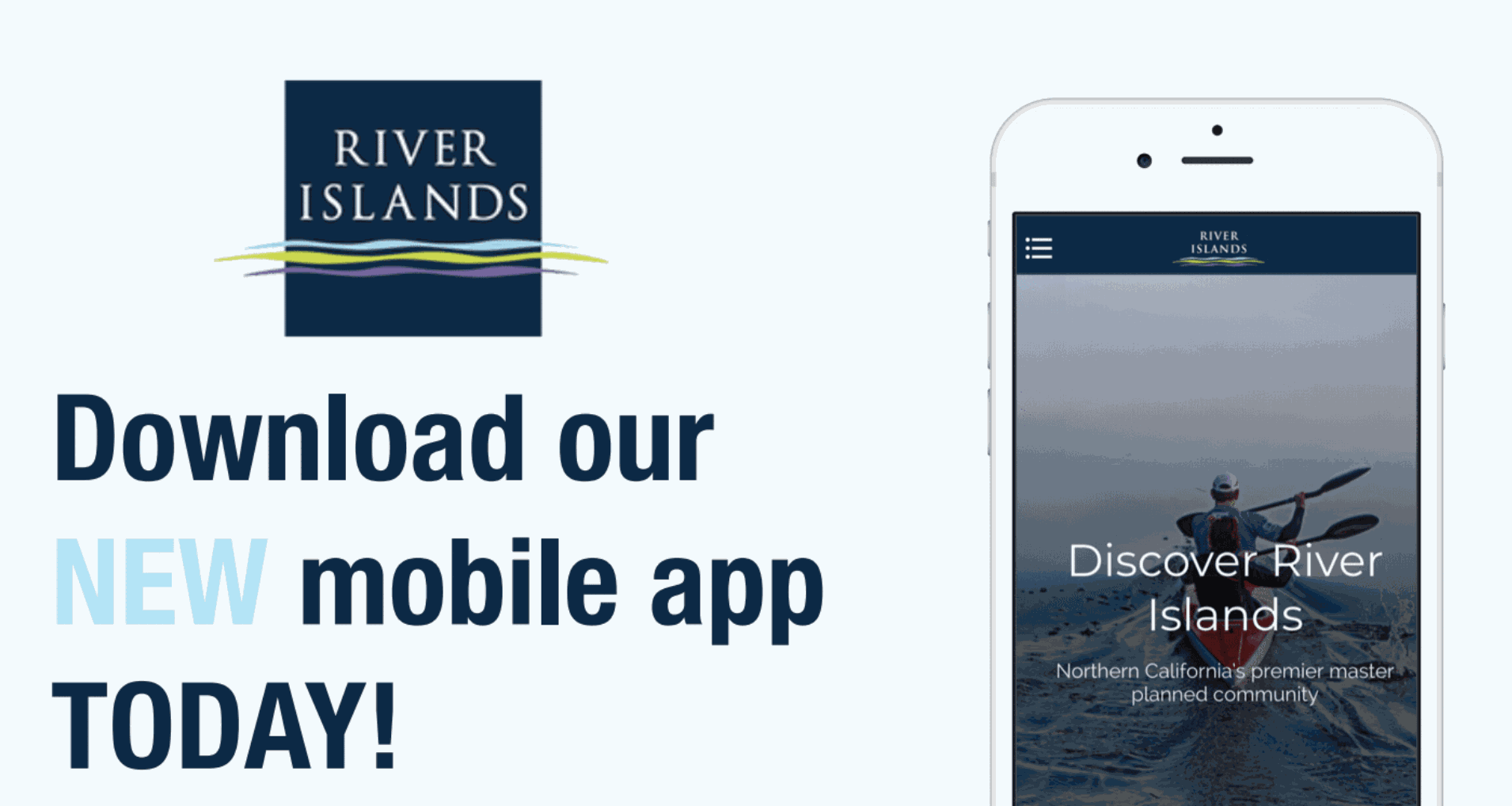 Download the River Islands Mobile App Today!