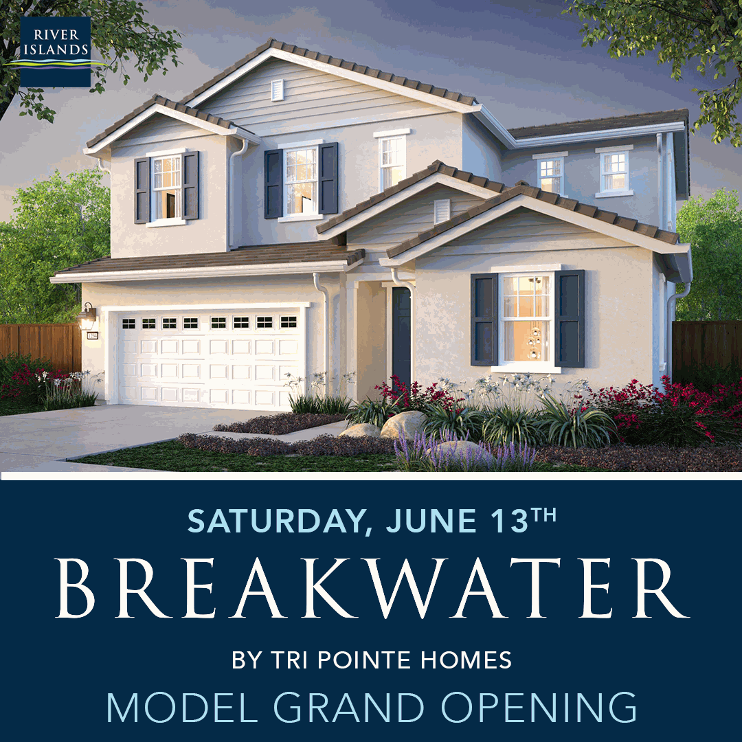 Breakwater by TRI Pointe Homes Grand Opening – June 13, 2020