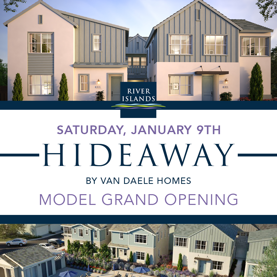 Hideaway by Van Daele Homes Grand Opening on January 9, 2020!