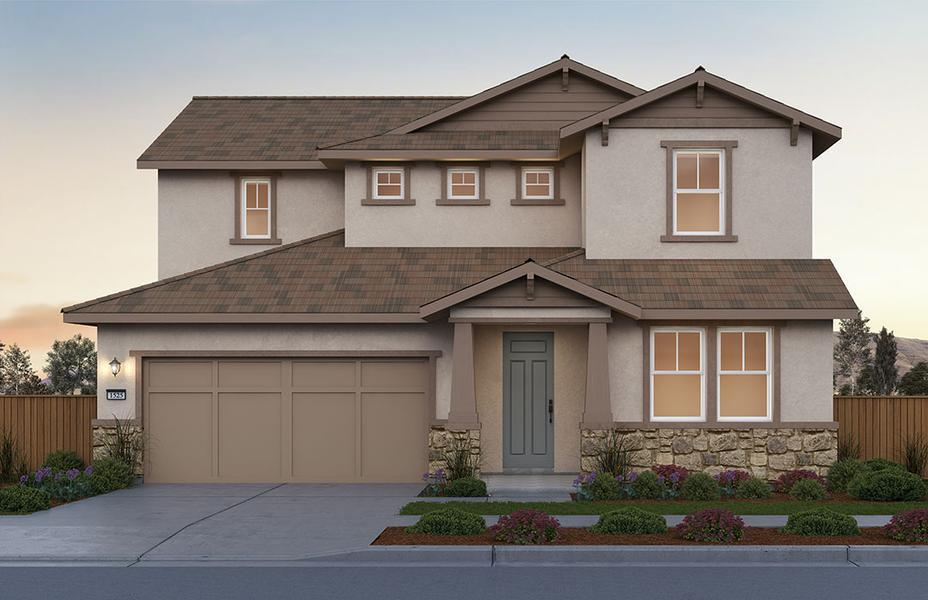 Plan 1 Home at Sunset by Pulte Homes at River Islands