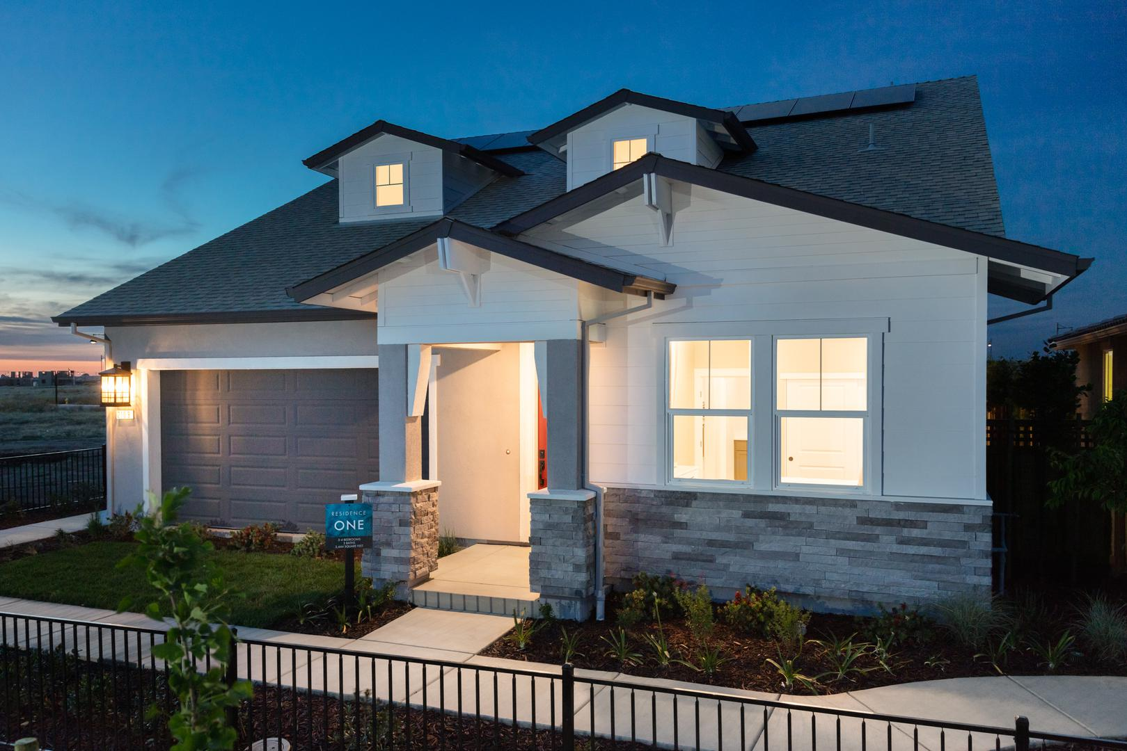 Haven Plan 1 at River Islands in Lathrop California
