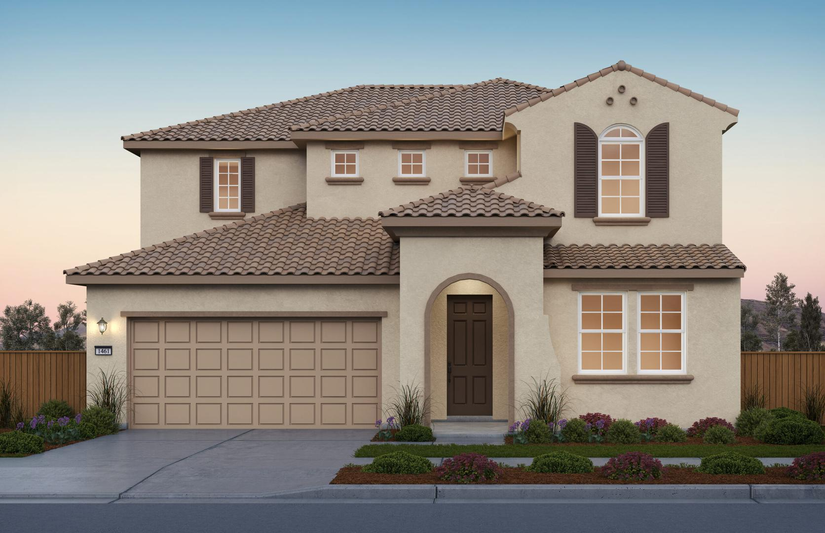 Sunset Elevation A at River Islands in Lathrop California