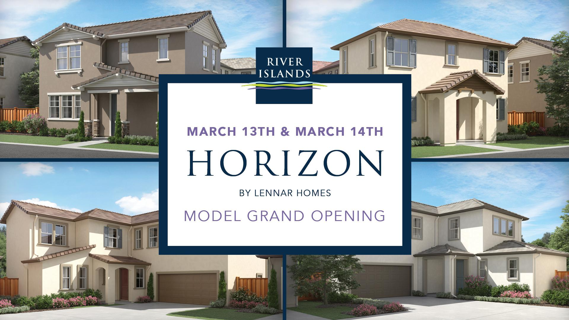 Horizon by Lennar Homes Grand Opening On March 13 & 14th, 2021
