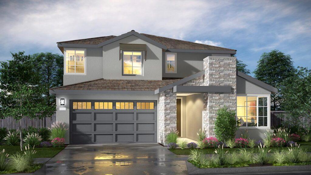 Residence 2 at Balboa by Kiper Homes at River Islands