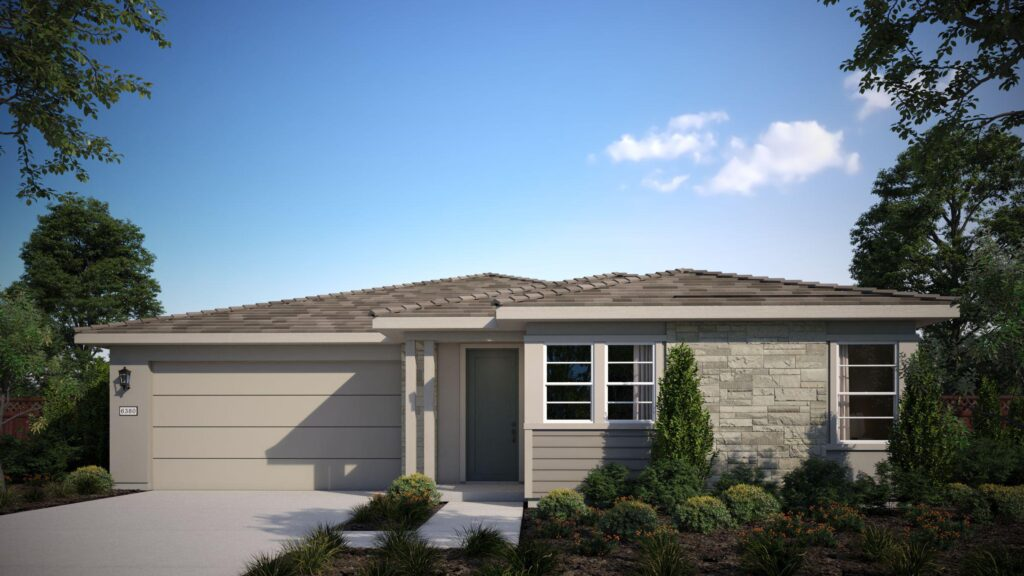 plan 1 at Waypointe by The New Home Company at River Islands in Lathrop