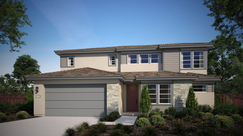 plan 3 at Waypointe by The New Home Company at River Islands in Lathrop
